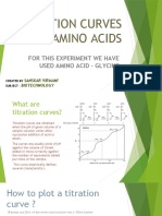 TITRATION CURVES OF AMINO ACIDS
