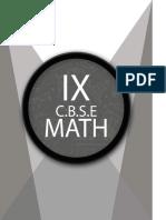 9th Math Workbook