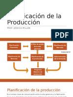 contenido planificación y control  de la producción