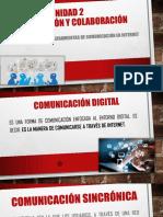 2.2 Herramientas de Comunicación en Internet