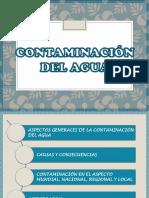 contaminacion de agua , sector local.pptx