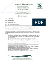 Memo - No Action - Fy20-014