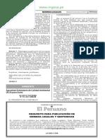 Decreto Supremo 011-2017-MINAM ECA Suelo