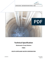 Wastewater Pumping Stations Standard Specification Final