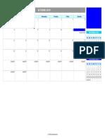 Perpetual event calendar monthly V1.31.xls