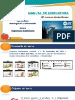 PA U1 - Material de Asignatura - 1 Unidad
