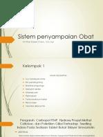 Sistem Penyampaian Obat Yoita Sitakar