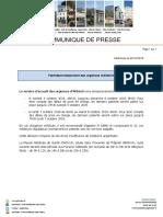 COMMUNIQUE de PRESSE - Fermeture Temporaire SAU Altkirch