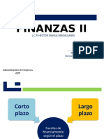 Financiamiento a Corto y Largo Plazo