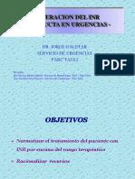 Hematologia Alteracio INR