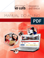 MANUAL DO ALUNO. Institucional Faculdade de Educacao Sao Luis.