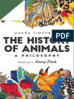 hisoty of animals