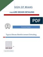 design of beam