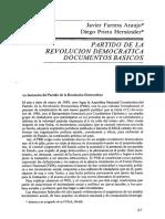 Partido de La Revolución Democrática_Documentos Básicos