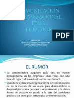 Rumor organizacional