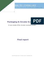 Packaging and Circular Economy Final Report en September 2014