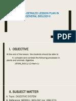 Dlp in Gen Biology II