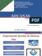 Aduana, Exposicion