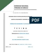 TESINA-TECNICAS DE SOLDADURA Y SU APLICACION-IBJF_V3