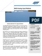 AIM-9440 Analog Input Module