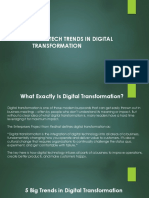 TOP 5 TECH TRENDS IN DIGITAL TRANSFORMATION