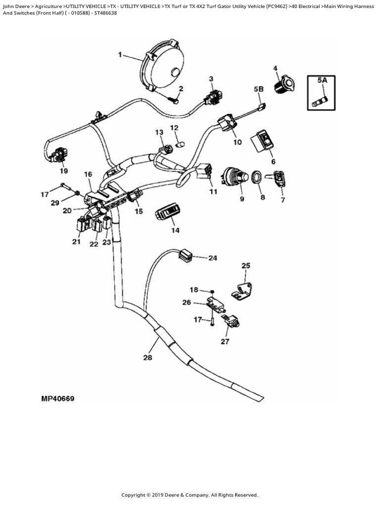 JOHN DEERE SOCKET OUTLET GY20768
