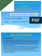 Ppt Introduccion Al Impacto Ambiental