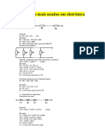 Formulas eletronica