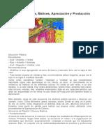 Secuencia Colores, Matices, Apreciación y Producción