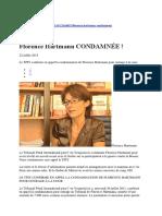 Francois Hartmann Condamné