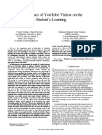 The Impact of YouTube Videos on the Student's Learning.pdf