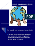 Environment Change and Health III