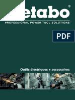 Catalogue Metabo - Outils Électriques Et Accessoires - 2018-05