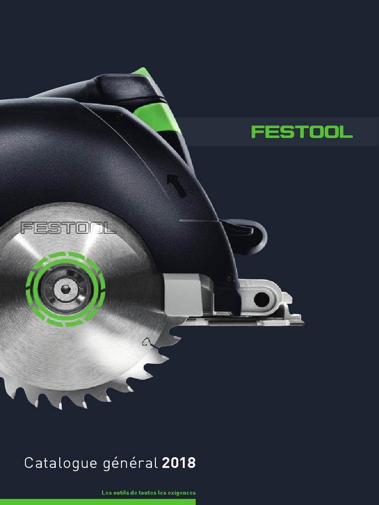 Catalogue Festool Général 2018 | Accumulateur lithium