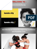 Join Martial Art School for Improving Confidence and Flexibility Level