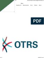 OTRS Configuraciones basicas