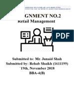 Retail Management Assignment No#1 (1)