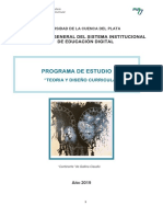 Programa de Estudio Ty DC 2019