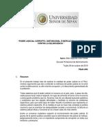 Corrupción en el poder judicial del Perú