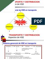 Transporte y distribución HSE