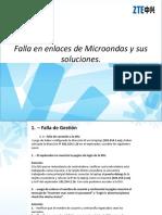 Falla en Enlaces de Microondas y Soluciones Avanzado