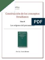 Construcción de conceptos freudianos