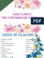 Diapositiva Caso Clinico Paralisis Cerebral