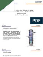 Separadores Verticales de hidrocarburos