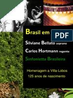 Brasil em Canções (Belatto,S; Hortmann, C)