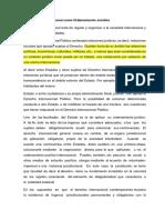 Derecho internacional como ordenamiento juridico