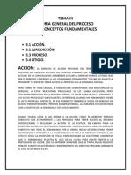 Tema III Los Conceptos Fundamentales Autoevaluacion