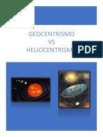 Geocentrismo Vs Heliocentrismo