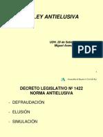La Ley Antielusiva Miguel Arancibia