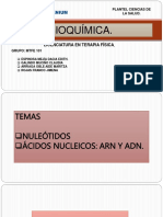 BIOQUIMICA NUCLEOTIDOS